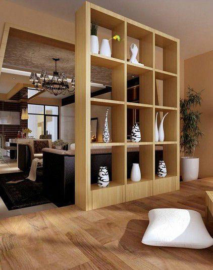 中式古典风格客厅博古架装修效果图