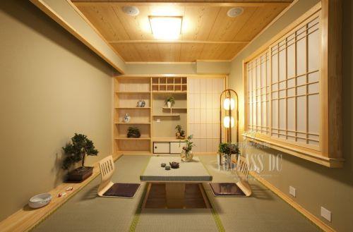 中式古典别墅客厅装修效果图欣赏