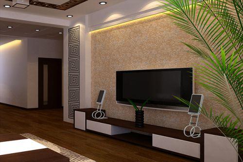 中式古典一居室客厅装修图片欣赏