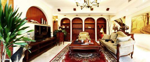 中式古典六居室客厅装修图片欣赏