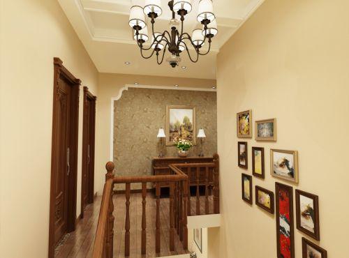 中式风格四居室客厅灯具装修效果图大全