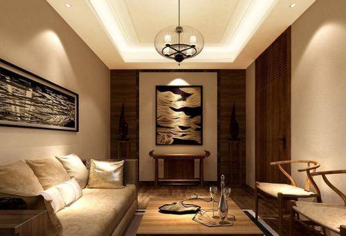 中式风格五居室客厅沙发装修效果图大全