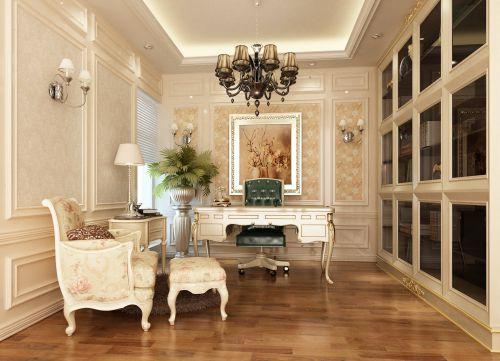 现代欧式四居室客厅装修效果图