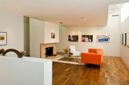 欧式时尚设计三室两厅客厅效果图