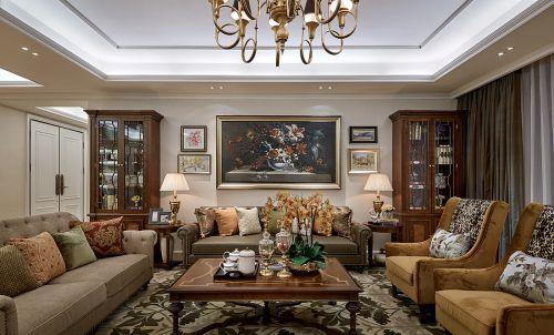 精致大气欧式风格客厅沙发装修图片