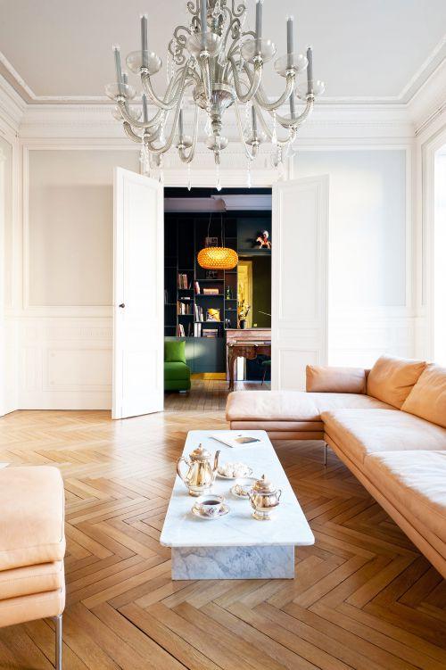 明亮奢华欧式风格别墅客厅装修图片