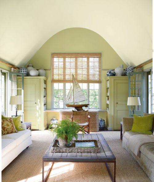 浪漫欧式风格客厅复古茶几装修图片