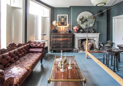 欧式风格精致典雅客厅装修效果图