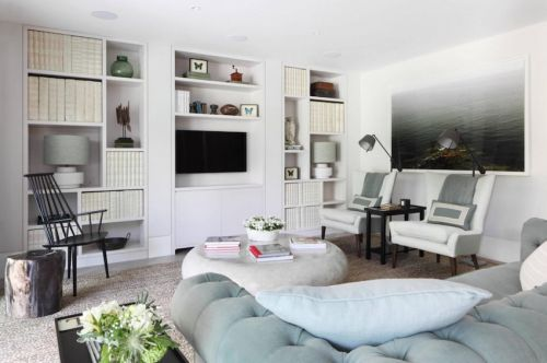 白色浪漫两室一厅欧式装修效果图大全