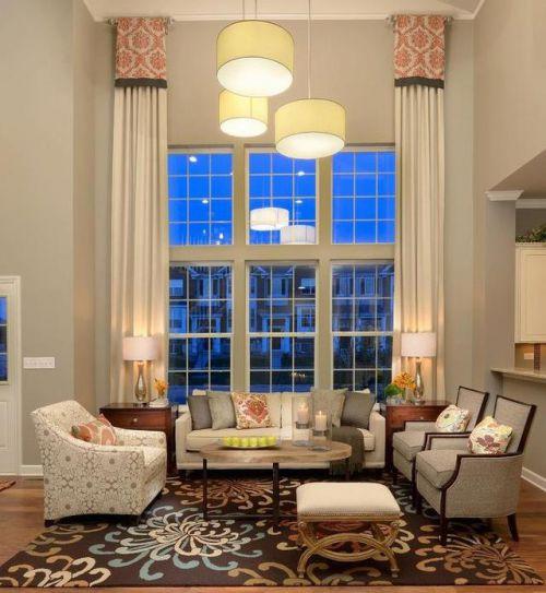 高端舒适欧式风格客厅茶几装修实景图