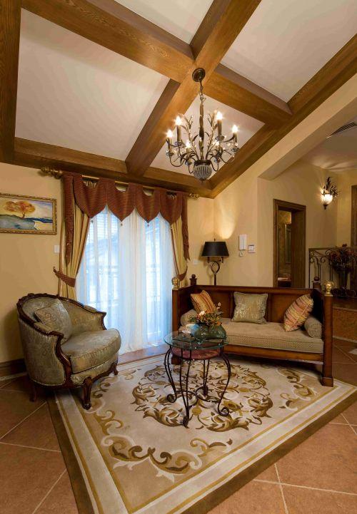 高端大气欧式风格客厅装修效果图