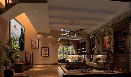 欧式风格五居室客厅装修效果图欣赏