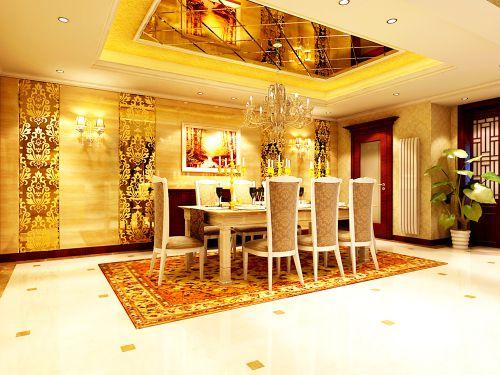 新欧式风格六居室客厅装修图片