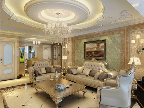 欧式风格五居室客厅沙发装修图片
