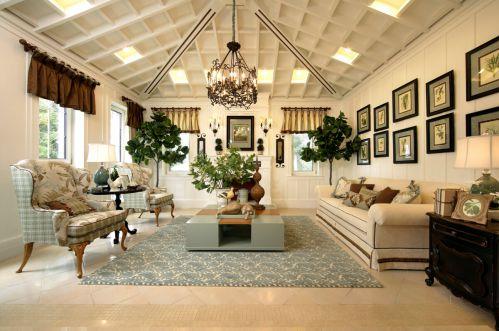欧式田园其它客厅装修图片