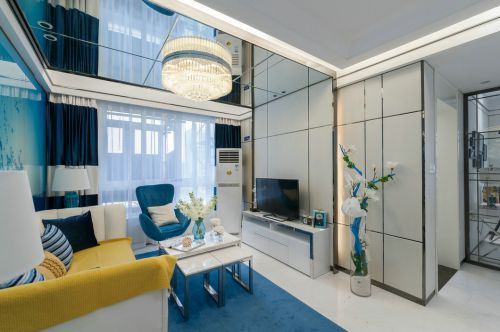 大气两室一厅欧式装修效果图大全