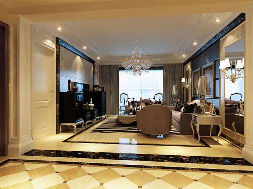 欧式四居室客厅装修图片欣赏