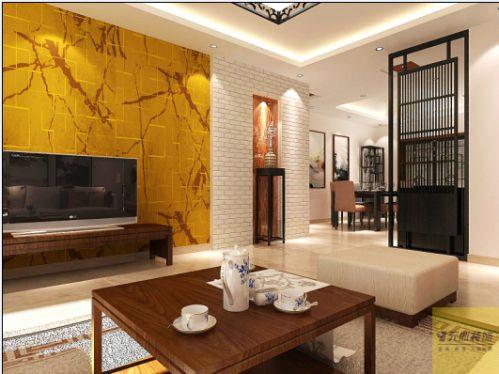 欧式风格四居室客厅装修效果图大全