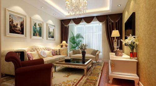 欧式二居室客厅装修图片