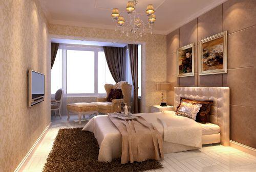 欧式古典二居室客厅装修图片欣赏