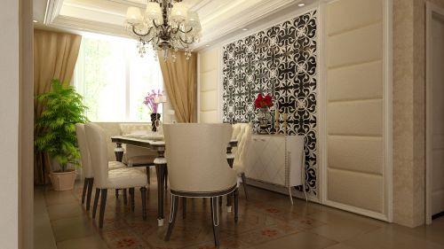 欧式奢华一居室客厅装修效果图欣赏