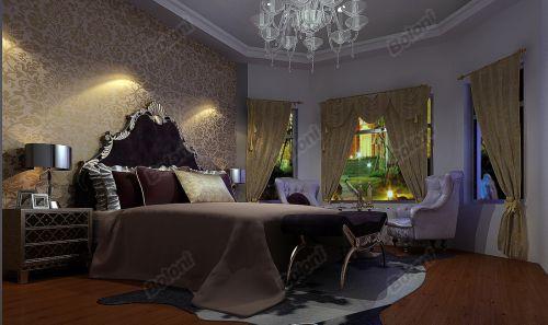 欧式奢华三居室客厅装修图片欣赏