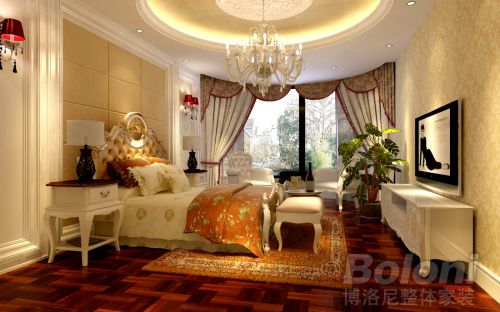 欧式,奢华四居室客厅装修效果图大全