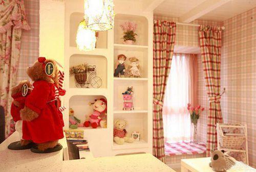 田园风格二居室客厅装修效果图大全