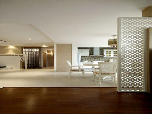 田园风格三居室客厅隔断装修效果图大全
