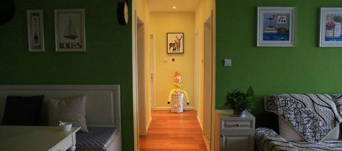 田园风格三居室客厅沙发装修效果图大全