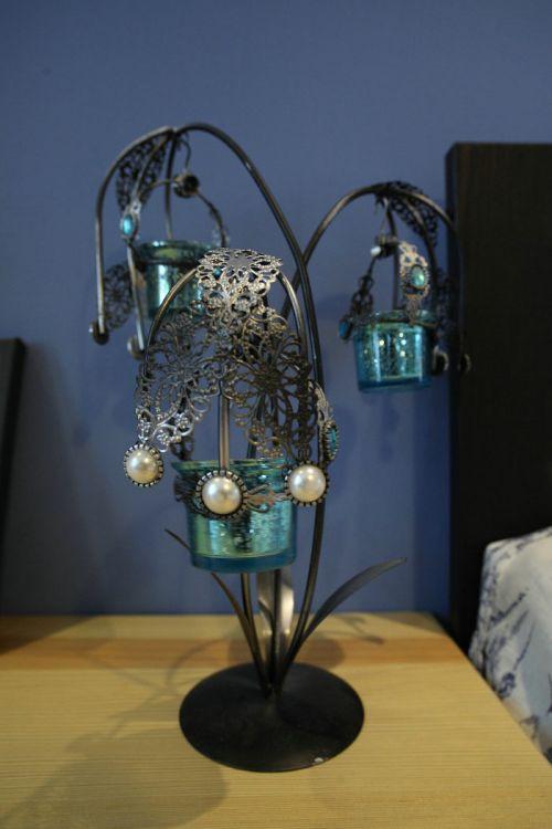 地中海风格一居室客厅灯具装修图片