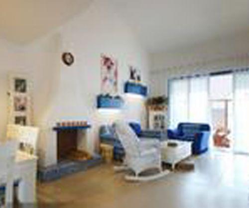 地中海风格五居室客厅隔断装修效果图欣赏