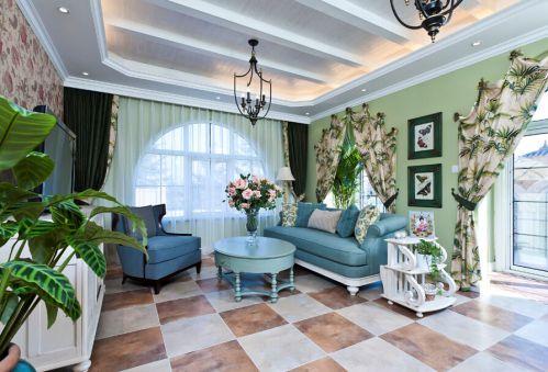 地中海风格其它客厅吊顶装修图片