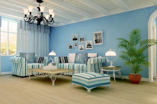 地中海风格二居室客厅装修效果图