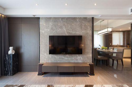 混搭风格三居室客厅吊顶装修效果图大全