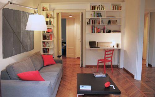 气质温馨混搭风格客厅装修设计