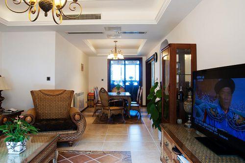 混搭风格二居室客厅装修效果图欣赏