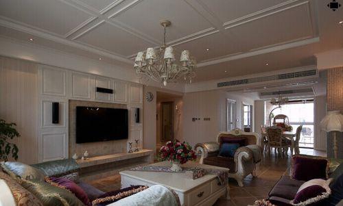 混搭风格三居室客厅装修图片