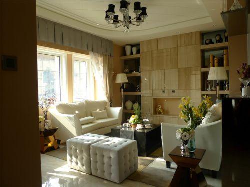 混搭风格六居室客厅灯具装修图片