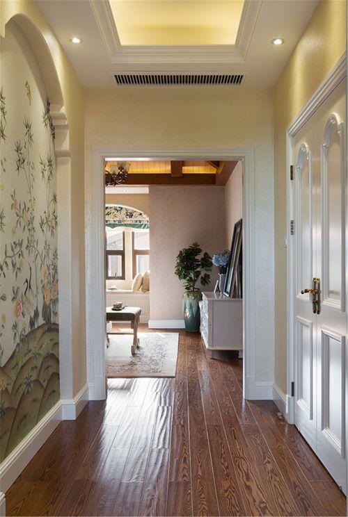 混搭风格四居室客厅吊顶装修效果图欣赏