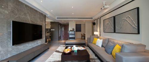 混搭风格四居室客厅飘窗装修效果图欣赏