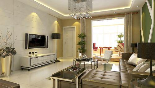 混搭风格三居室客厅沙发装修效果图大全
