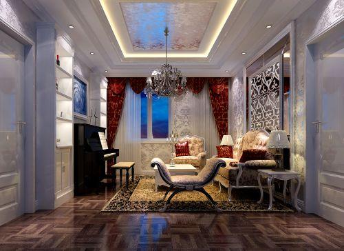混搭风格六居室客厅沙发装修效果图大全