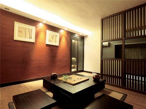 混搭风格三居室客厅照片墙装修效果图大全