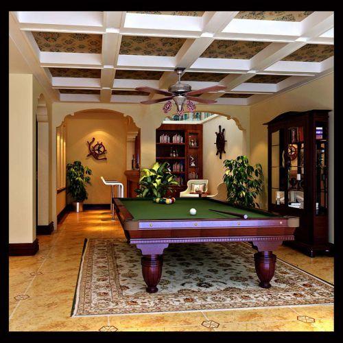 美式风格跃层客厅装修效果图