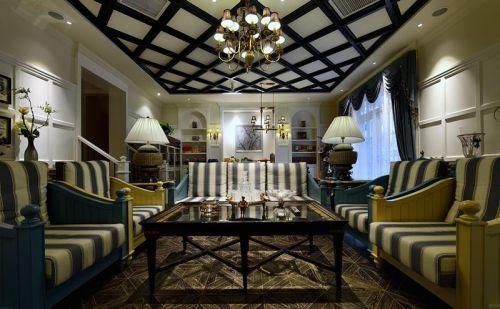 雅致美式客厅灯具图片大全