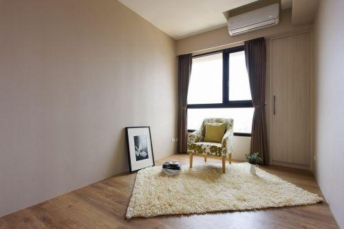 简洁明亮美式客厅效果图