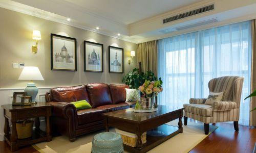 华丽美式风格客厅沙发效果图欣赏