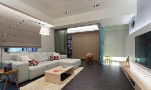雅致美式风格客厅沙发效果图大全