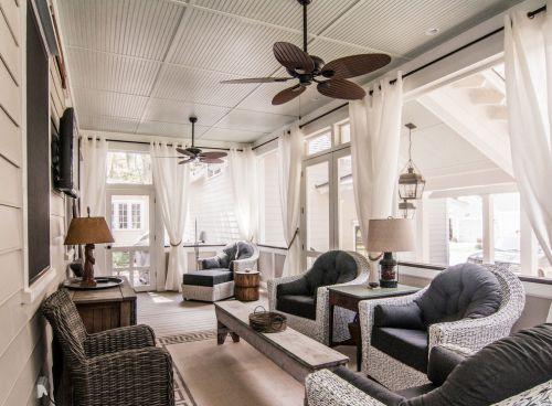 典雅美式风格客厅沙发效果图欣赏